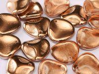 Rose Petals Apollo Gold 14x13 mm - 5 sztuk