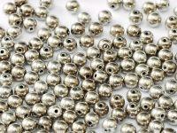 Round Beads Argentic 6 mm - 20 sztuk