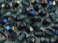 FP 6mm Blue Iris - Aquamarine - 20 sztuk