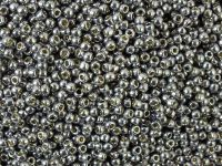 TOHO Round 11o-PF568 Permanent Finish - Galvanized Gunmetal Gray - 10 g