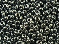 TOHO Magatama 3mm-81 Metallic Hematite - 100 g