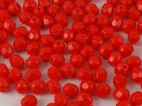 FP 4mm Opaque Lt Red - 40 sztuk