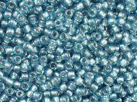 TOHO Round 8o-285 Inside-Color Aqua - Tin Lined - 10 g