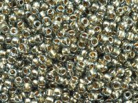 TOHO Round 8o-993 Gold-Lined Black Diamond - 10 g