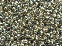 TOHO Round 8o-993 Gold-Lined Black Diamond - 10 g