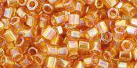 TOHO Hex 8o-162C Trans-Rainbow Topaz - 10 g