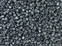 TOHO Hex 11o-611 Matte-Color Opaque Gray - 10 g