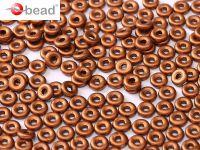 O bead Matte Metallic Copper - 5 g