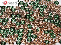 O bead Emerald Capri Gold - 5 g
