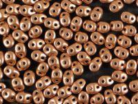 SuperDuo 2.5x5mm Matte Metallic Copper - 100 g