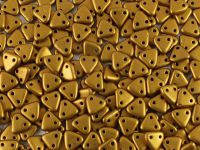 Triangle 6mm Matte Metallic Goldenrod - 5 g