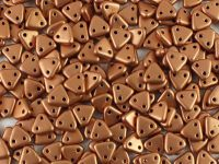 Triangle 6mm Matte Metallic Copper - 5 g