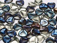 Rose Petals Crystal Bermuda Blue 8x7 mm - 10 sztuk
