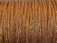 Sutasz rayon Copper metalizowany strukturalny 2.5 mm - 1 m