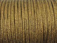 Sutasz rayon Antique Gold metalizowany strukturalny 2.5 mm - 1 m