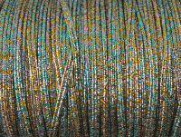 Sutasz rayon Rainbow metalizowany strukturalny 2.5 mm - 1 m