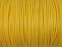 Sznurek lakierowany żółty 1 mm  - 3 m