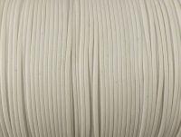 Sznurek lakierowany biały 1 mm  - 3 m