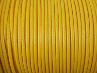 Sznurek lakierowany żółty 2 mm - 2 m