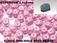 SuperDuo 2.5x5mm Luster - Metallic Lilac - 100 g