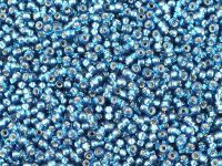 Miyuki Round 11o-1425 Silver-Lined Blue Zircon - 10 g