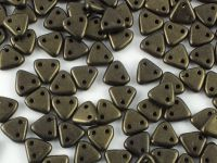 Triangle 6mm Metallic Suede Khaki - 5 g