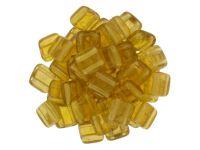 Tile 6mm Gold Marbled Topaz - 20 sztuk