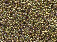 TOHO Round 15o-459 Gold-Lustered Dark Topaz - 5 g