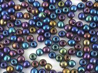 Round Beads Iris Blue 3 mm - opakowanie