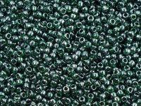 TOHO Round 11o-118 Trans-Lustered Green Emerald - 10 g