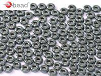 O bead Hematite - 50 g