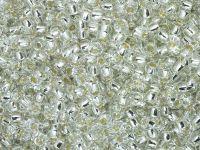TOHO Round 8o-21 Silver-Lined Crystal - 250 g