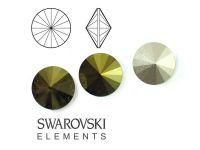 Rivoli Swarovski 12 mm Crystal Iridescent Green F - 1 sztuka
