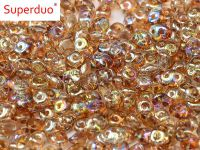 SuperDuo 2.5x5mm Crystal Brown Rainbow - 10 g
