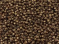 Matubo 8o Luster-Transparent Gold-Smoky Topaz - 10 g