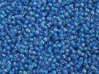 TOHO Round 11o-309 Inside-Color Lt Sapphire - Opaque Blue Lined - 10 g