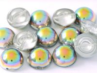 Dome Bead Crystal Vitrail 12x7mm - 1 sztuka