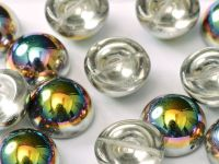 Dome Bead Crystal Vitrail 14x8mm - 1 sztuka