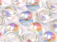 Dome Bead Crystal AB 14x8mm - 1 sztuka