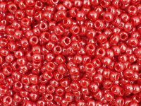 TOHO Round 8o-125 Opaque-Lustered Cherry - 100 g