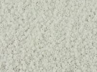 Miyuki Delica DB0351 Matte Chalk White AB - 5 g