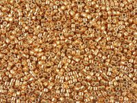 Miyuki Delica DB0411 Galvanized Apricot Gold - 5 g