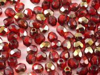 FP 3mm Bronze Iris - Siam Ruby - 40 sztuk