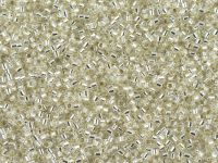 Miyuki Delica DB0041 Silver Lined Crystal - 5 g