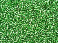 Miyuki Delica DB0046 Silver Lined Green - 5 g