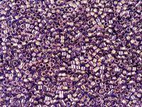 Miyuki Delica DB0117 Transp. Aqua Gold Luster Lt. Purple - 5 g