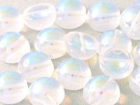 Dome Bead Crystal AB 12x7mm - 1 sztuka