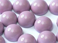 Dome Bead Fiesta Lilac 12x7mm - 1 sztuka