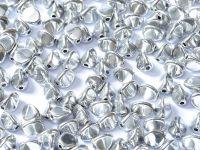 Pinch Beads Silver 5x3 mm - 50 g