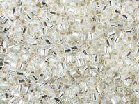 TOHO Hex 8o-21 Silver-Lined Crystal - 100 g